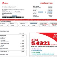 Airtel Postpaid Bill Customer Care Number