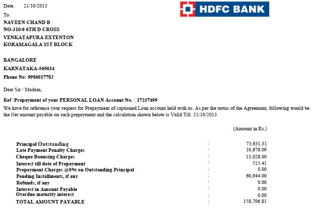Hdfc Bank Personal Loan Mental Harassment And Torture