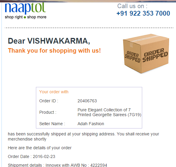 Naaptol — Need to cancel my order, Page 3