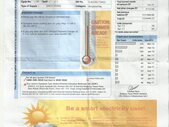 -justified bill Amount 154400.00, A/c no 102230835./There is no electricity at my home