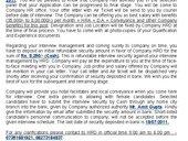 Fake Offer Letter Asking For Money