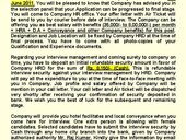 Hcl India Limited Offer Letter